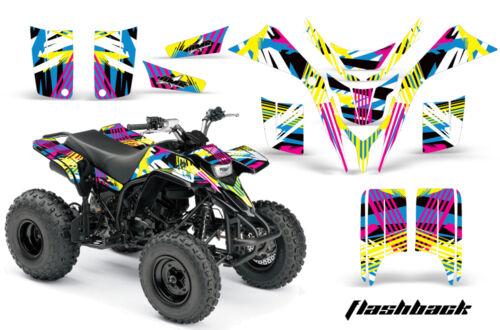 ATV Graphics Kit Quad Decal Wrap For Yamaha Blaster YFS200 1988-2005 FLASHBACK