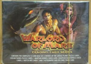 Warlords-of-Mars-Comic-Book-Trading-Card-Set
