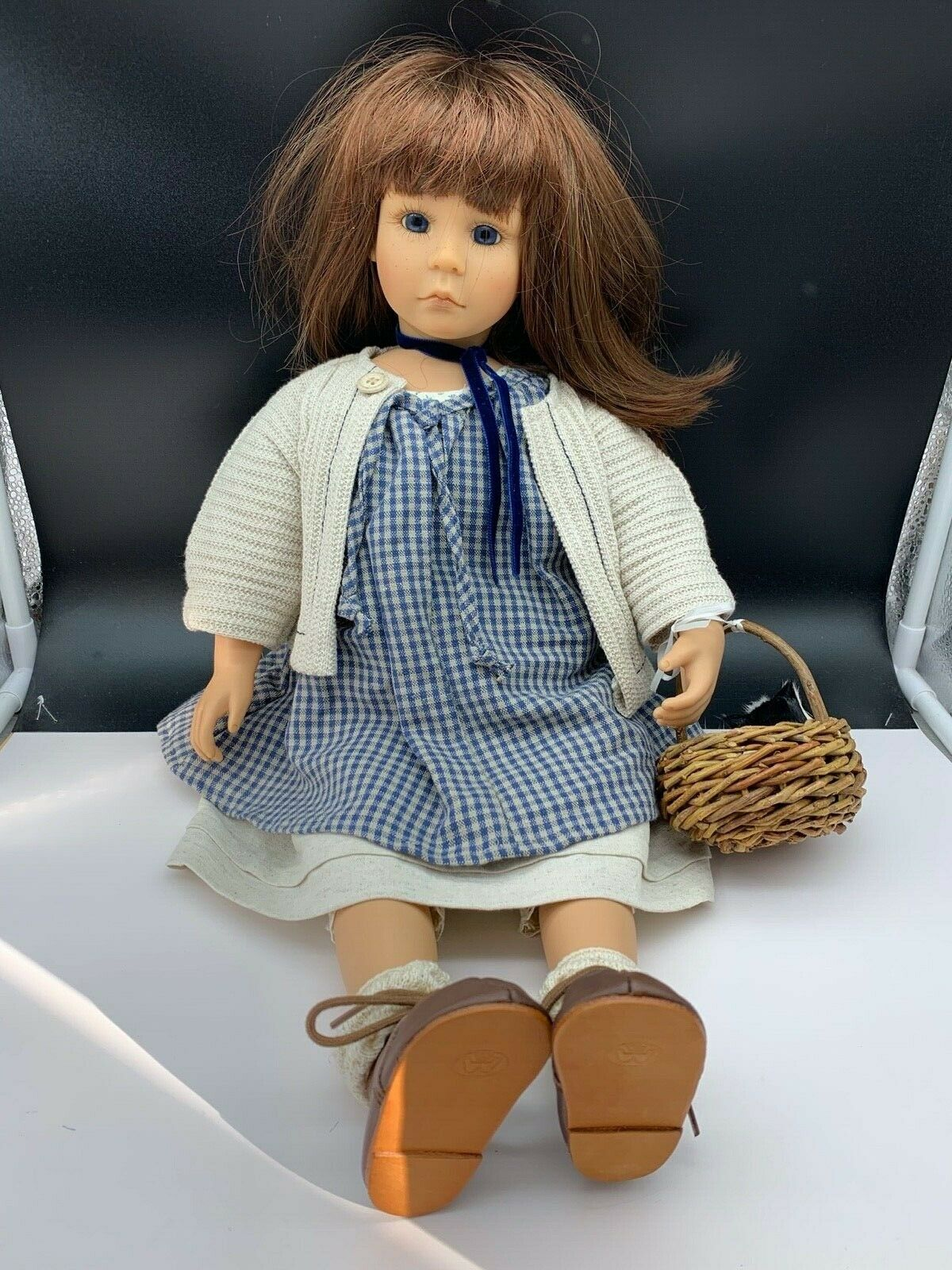 Bettina Feigenspan Stag Vinyl Doll 54 Cm. Top Condition