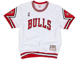 0e3cf257e Chicago Bulls Mitchell   Ness NBA Authentic 1987-88 Home Shooting ...