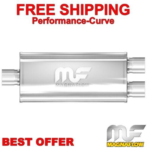 """3/"""" 2.5/"""" 5x8-24/"""" Body MagnaFlow Muffler SS 12388"""