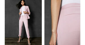 375441055 New TED BAKER Toplyt Bow Cuff Ankle Grazer Trouser In Pink Pants ...