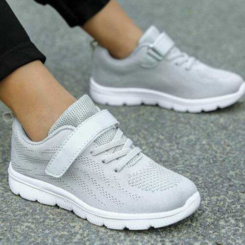 Kids Running Trainers Mesh Sneakers Boys Girls Sport Shoes Size 9.5 to 2.5 Youth