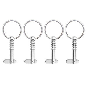 4x-Spring-Quick-Release-Pin-1-4-034-Stainless-Steel-Marine-Boat-Bimini-Top-Fitting