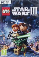 LEGO Star Wars 3: The Clone Wars (PC DVD) BRAND NEW SEALED