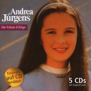 Andrea-Juergens-5-CD-Box-Die-Fruehen-Erfolge-CDs-neuwertig-Schlager-Paradies-Traum