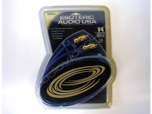 ESOTERIC AUDIO V4 HIGH RESOLUTION Composite Home Theater Video Cable 3.3FT