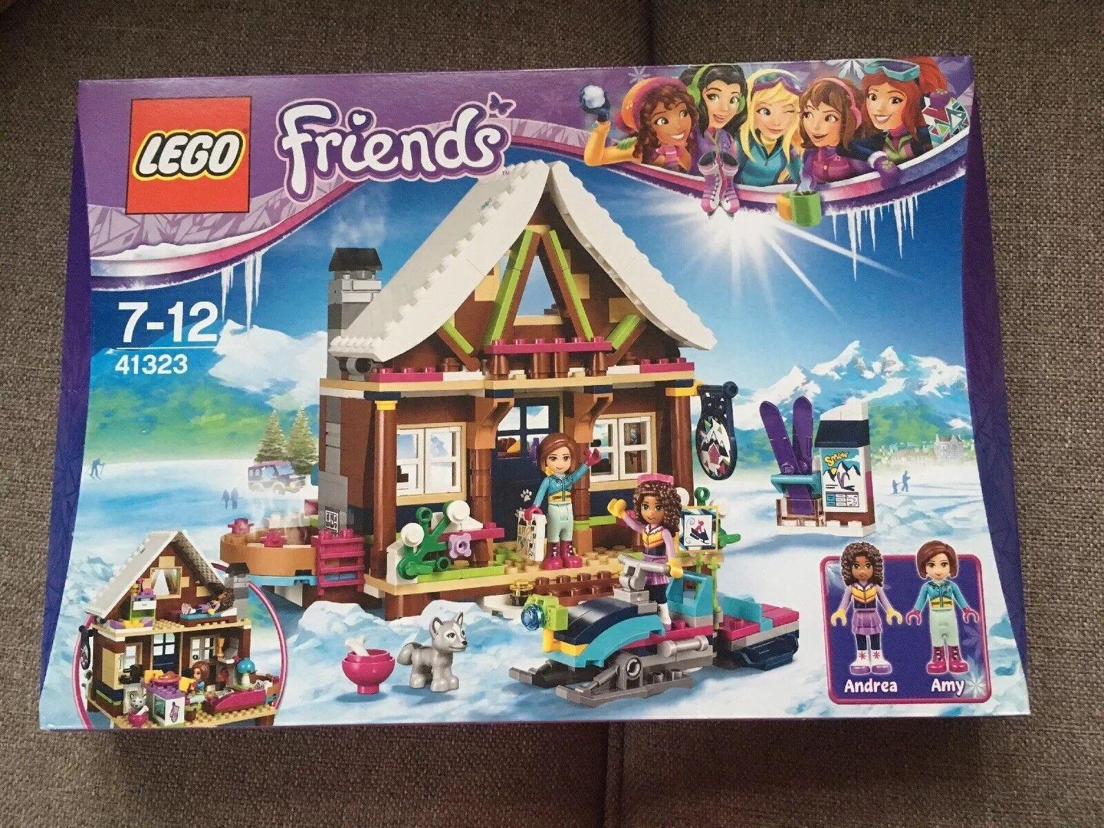 Lego Friends Ski Chalet 41323 Brand New