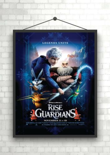 Rise Of The Guardians Classic Large Movie Poster Print A0 A1 A2 A3 A4 Maxi