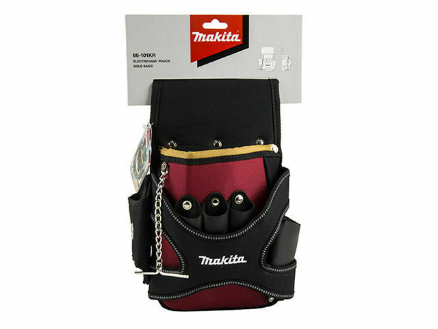MAKITA Professional Electricians' Pouch   Tool Holder gold Basic Series 66-101