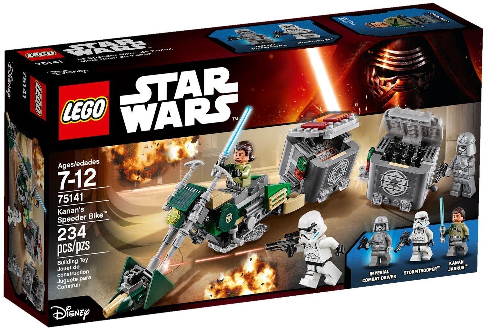 LEGO Star Wars - 75141 Kanans Speeder Bike mit mit mit Kanan Jarrus - Neu & OVP e4136a