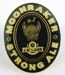J-W-Lees-Moonraker-Strong-Ale-Brewery-Pin-Badge-Beer-Bitter
