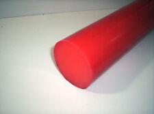 6387) PVC, Polyvinylchlorid, rot, Ø 80mm