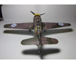 1-32-DIY-3D-Fokker-D-XXI-Fighter-Plane-Aircraft-Paper-Model-Assemble-Hand-Work