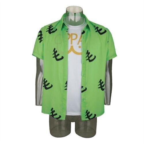 Halloween One Punch Man 2 Cosplay Costume Saitama Oppai Casual Shirts Uniform
