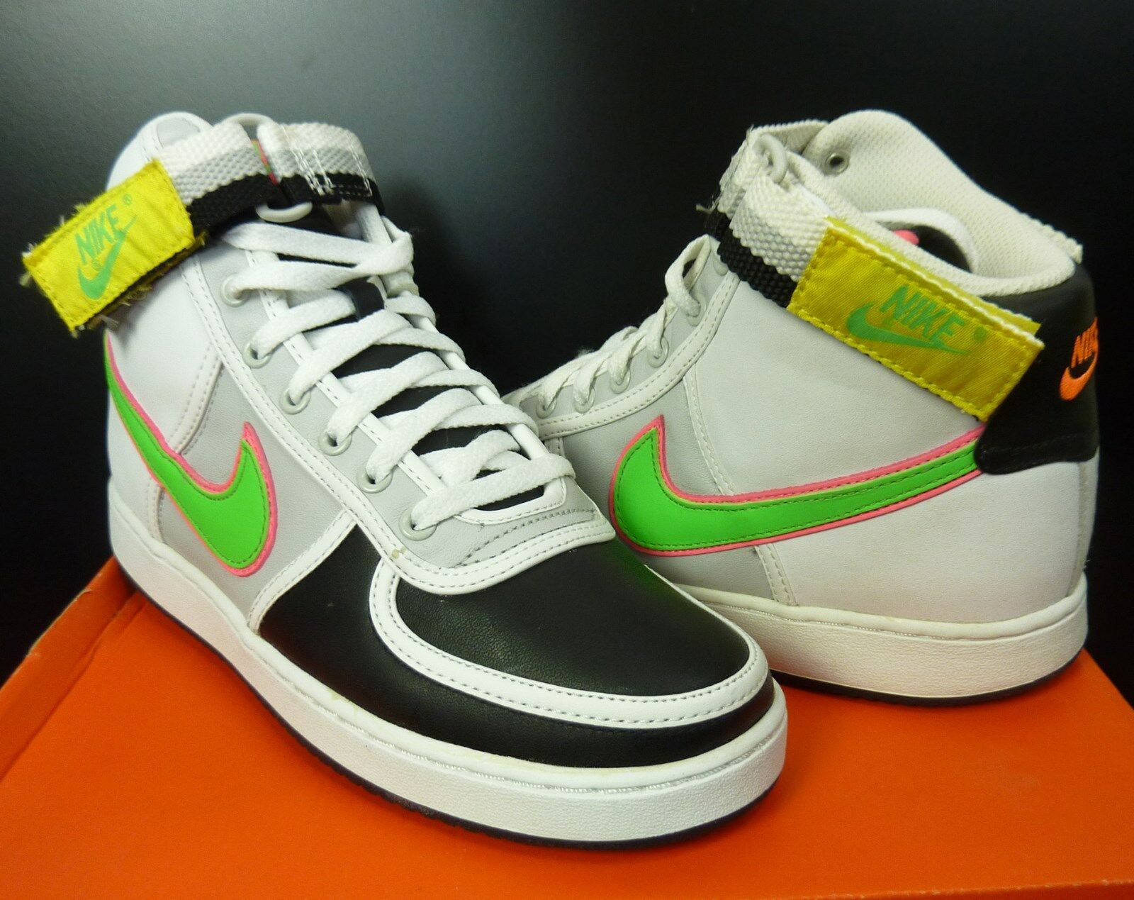 NEW NIKE VANDAL HI HIGH LEATHER SHOES SNEAKERS DEADSTOCK SIZE 8.5 US