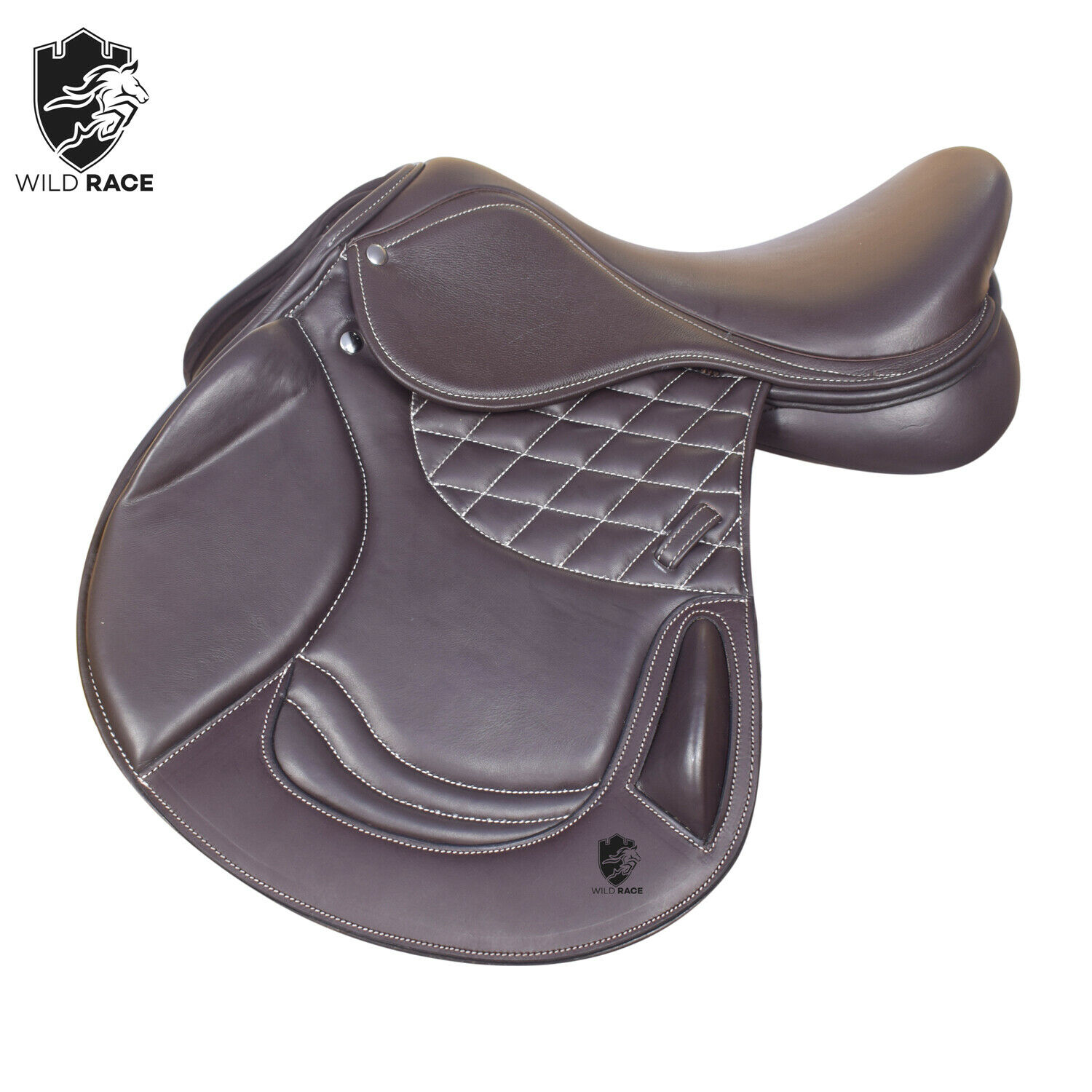 Horse Jumping leather saddle  Close contact saddle Available Dimensione 17 & 17.5