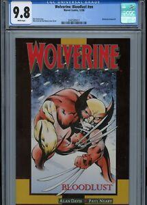 Wolverine-Annual-2-Bloodlust-1990-Marvel-Comics-Alan-Davis-CGC-9-8-White-Pages