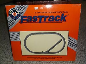 LIONEL-FASTRACK-6-12044-SIDING-ADD-ON-TRACK-PACK-IN-ORIGINAL-BOX