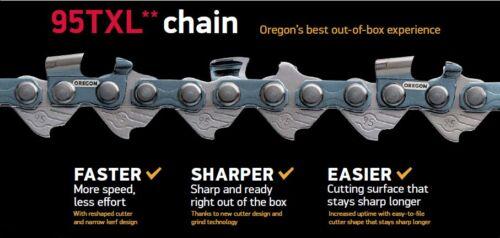 """Oregon 95TXL064E Chainsaw Chain 435e 440 /& 440e Fits 15/"""" Husqvarna 435"""