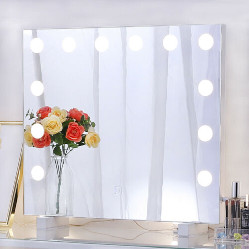 14 Bulbs Make Up Mirror LED Lights Kit Vanity Dimmable Dressing Lamp Hollywood