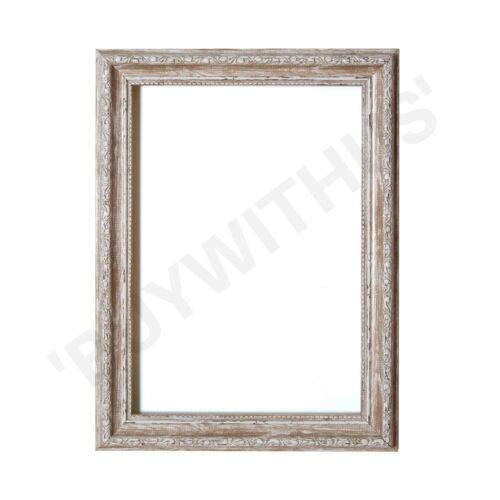 Ornate Shabby Chic Picture frame photo frame poster frame  Walnut UK MADE