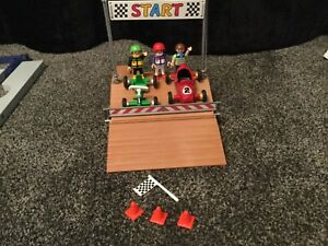 Details about Playmobil (4141) City Boxed Go Kart Racing with Instructions  and box