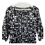 thumbnail 2 - Ann Taylor Womens Top Scoop Neck Puff Sleeve Blouse Black White Work Size Medium