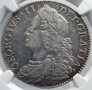 1750-GREAT-BRITAIN-UK-King-George-II-Silver-Half-Crown-English-Coin-NGC-i81747