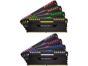 CORSAIR Vengeance RGB 128GB (8 x 16GB) 288-Pin DDR4 SDRAM DDR4 3200 (PC4 25600)