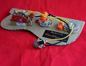 Schema Cablaggio Fender Telecaster : Ready built fender esquire telecaster single pickup wiring upgrade