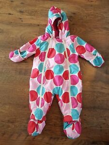 0681b3d3f Image is loading BABY-BODEN-SNOWSUIT-AGE-6-12-MONTHS-PINK-