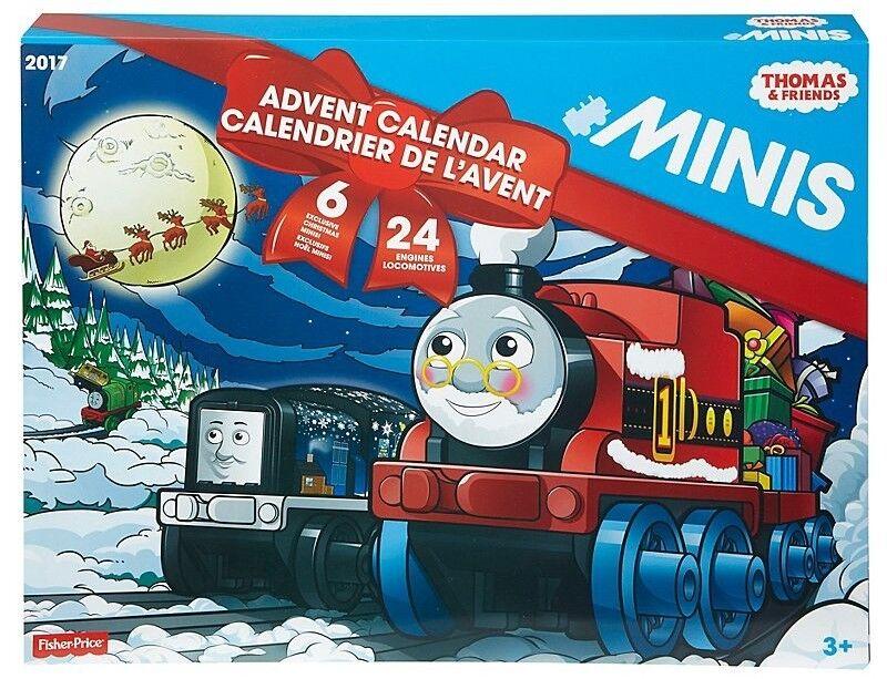 Thomas & Friends Minis 2017 Advent Calendar 24 Trains (6 Exclusive) New 2018