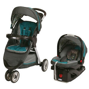 Graco-FastAction-Fold-Sport-Click-Connect-Travel-System-Stroller-Caraway