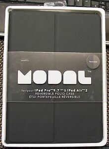 check out 44322 42a7b Details about MODAL REVERSIBLE FOLIO CASE FOR IPAD PRO 9.7
