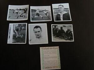 Liga-034-Rekord-im-Sport-1936-034-5-Fussballbilder-ungeklebt