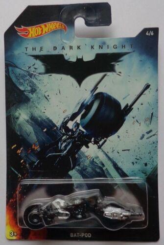 2015 Hot Wheels BATMAN Bat-Pod 4//6