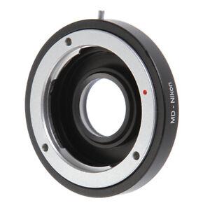 Details about Minolta D MD Lens to Nikon F Camera Adapter Glass Focus  Infinity D800 D750 D7100