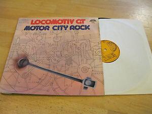 LP-Locomotiv-GT-Motor-City-Rock-Supraphon-CSSR-Vinyl-1-13-1920-Schallplatte