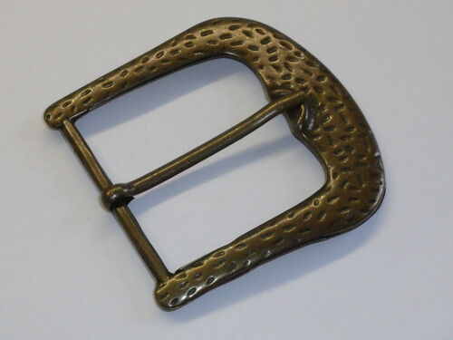 Gürtelschnalle Schließe Schnalle  5,8 cm altmessing NEUWARE rostfrei #565.2#
