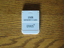 Memory Card Speicherkarte 1 MB für Playstation 1 PS1 PS 1