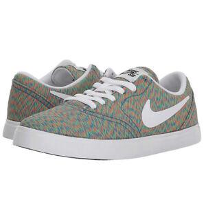 Nike-SB-Check-PRM-Premium-GS-Skate-Shoes-Youth-AO2983-900-Multi-Color-sz-6-5Y