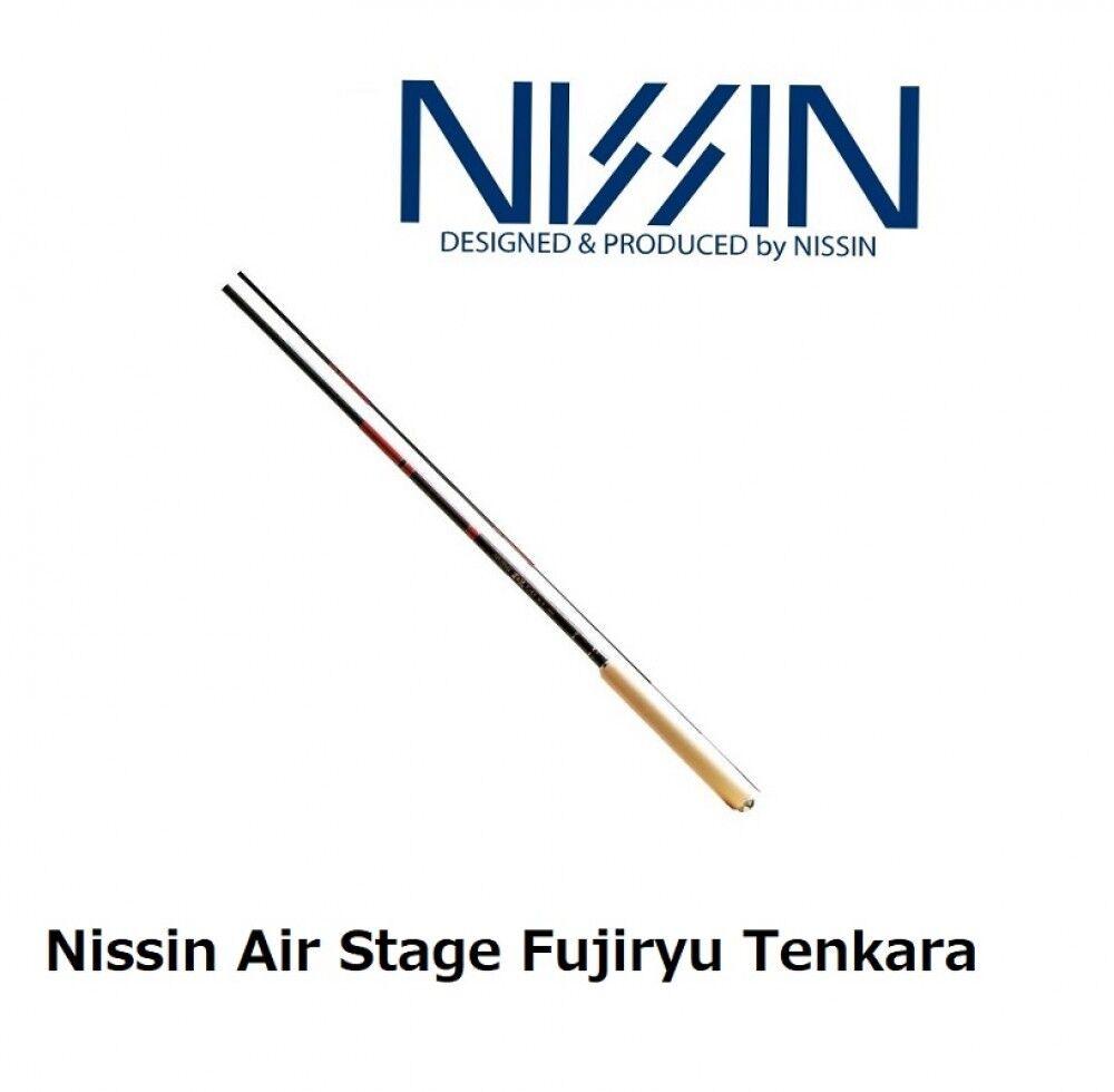 Nissin Air Stage Fujiryu Tenkara 330 6 4 Tenkara Rod Made in Japan