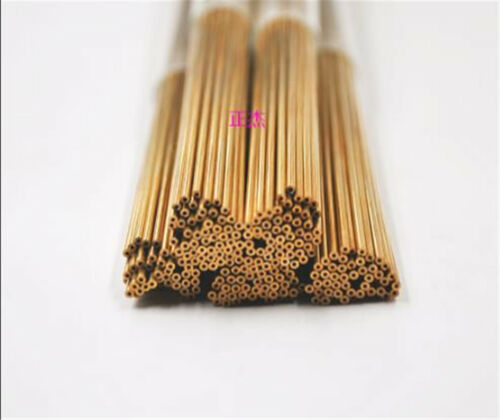 100pc Copper Electrode Tubes for EDM Drilling Machine Diameter 0.6mm #E7-S  GY