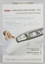 Beurer FT 65 - Thermometer Fieberthermometer 6in1 Ohr- Stirnthermometer KR3-FT65