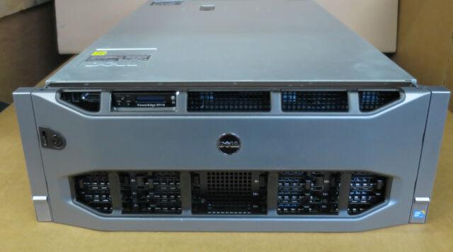 Dell PowerEdge R910 40-XEON Cores 4 x Intel E7-8867L 10Core 128GB 4x 600G Server