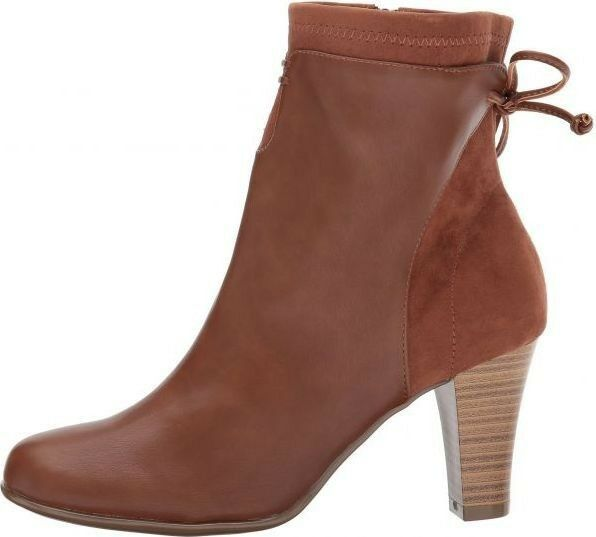 A2 By Aerosoles Leading Role Dark Tan Brown Ankle Women's Winter Boots - Size 10