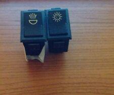 Innocenti Mini Minor, Mini Cooper, Versione Export, Interruttori Cruscotto,