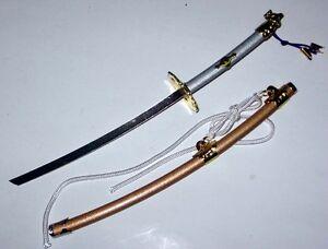 Japanese-Doll-Miniature-KATANA-Sword-Tsuba-26cm-Hina