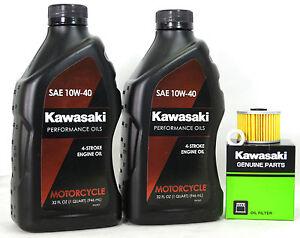 Kawasaki Eliminator Oil Change